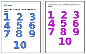 counting on a number line thumbnail 3